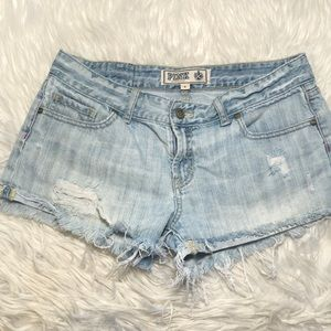 *3 For 12* PINK VS Jean Shorts